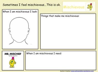 Mr Men Emotions - Social Story Resource