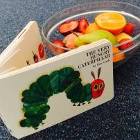 Sensory Play - The Very Hungry Caterpillar