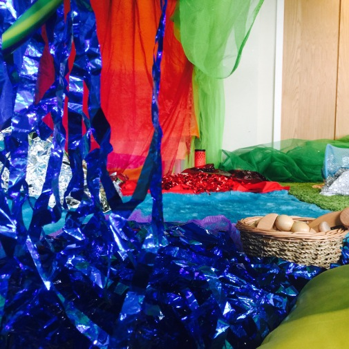 Sensory Play - The Very Hungry Caterpillar