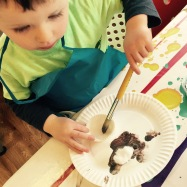 Messy Play & Art - We're Going on a Bear Hunt