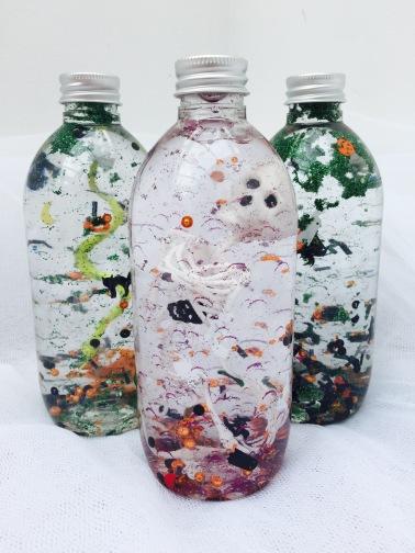 Sensory Bottles - Halloween