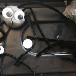 Halloween Sensory Play - Aaaarrgghh Spider