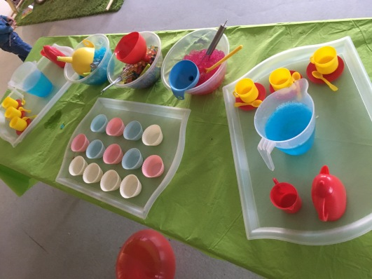 Sensory Play - Alice in Wonderland
